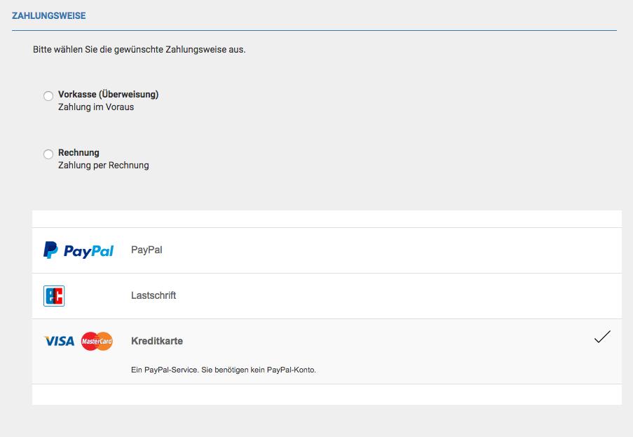 Styling Paypal Optionen Im Checkout Gambio Forum Die Offizielle
